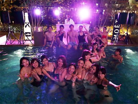 神戸経済新聞、上半期のPV1位は混浴温水プールで神戸初「ナイトプール」