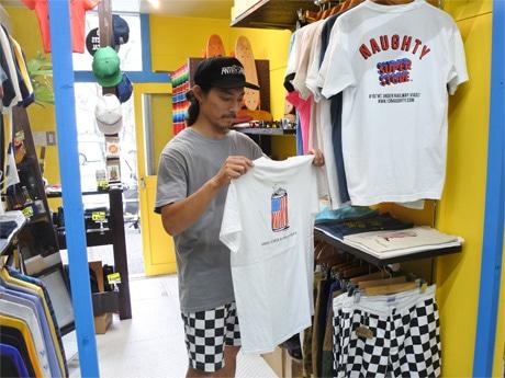 アパレルショップ「NAUGHTY SUPER STORE(ノーティースーパーストア)」デザイナーでもある店主の横田陽さん
