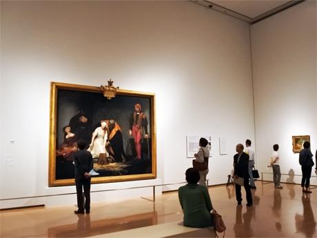 同展の注目作となるポール・ドラローシュの大作「レディ・ジェーン・グレイの処刑」