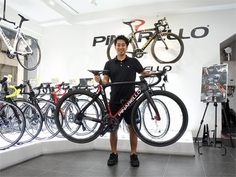 老舗自転車店「ヤマダサイクルセンター」5代目店主の山田悦生さん