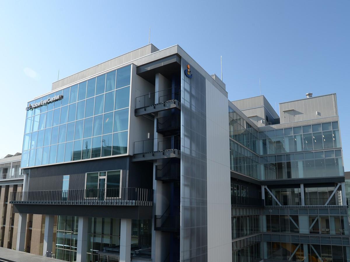 神戸ポートアイランドに全国初の眼科専門施設「神戸アイセンター」開院