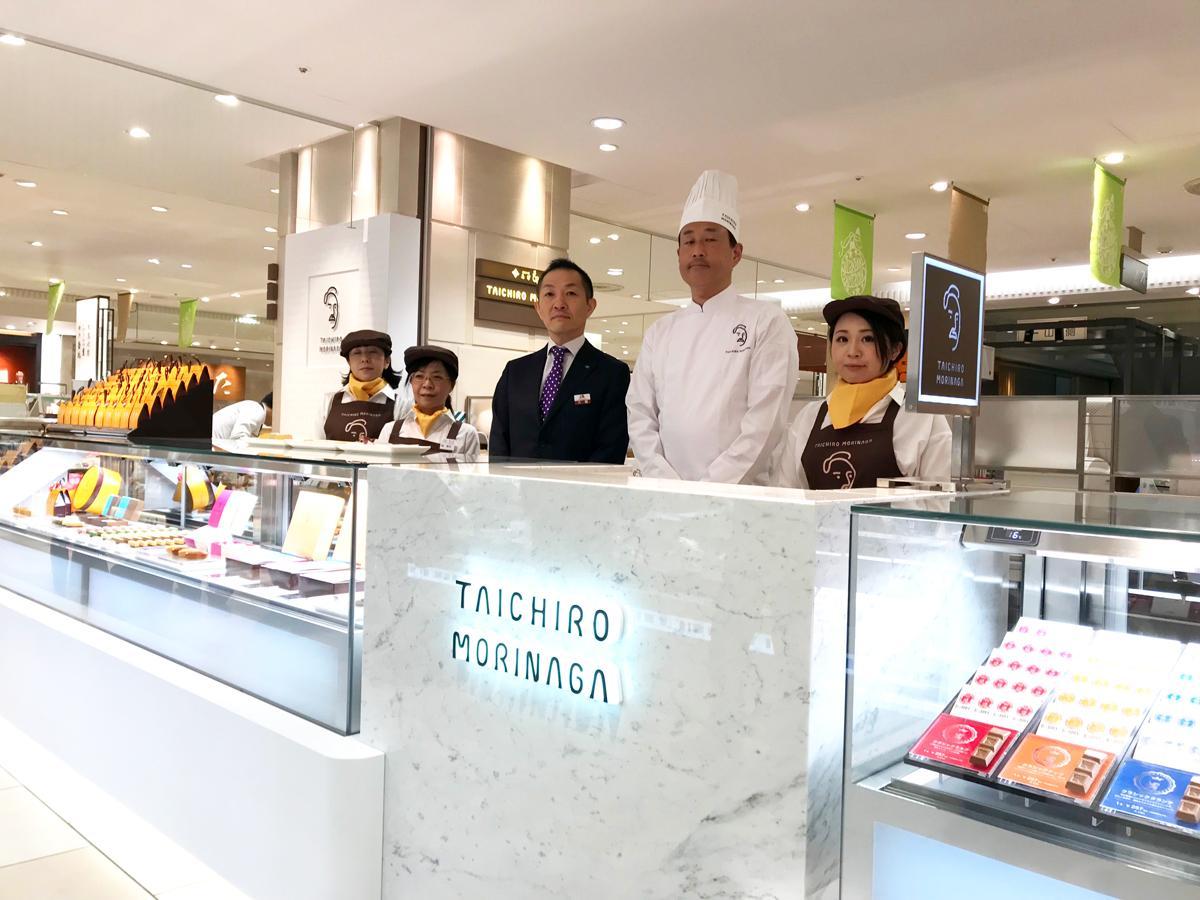 森永製菓のコンセプトショップ「TAICHIRO MORINAGA(たいちろう もりなが)」初の常設店