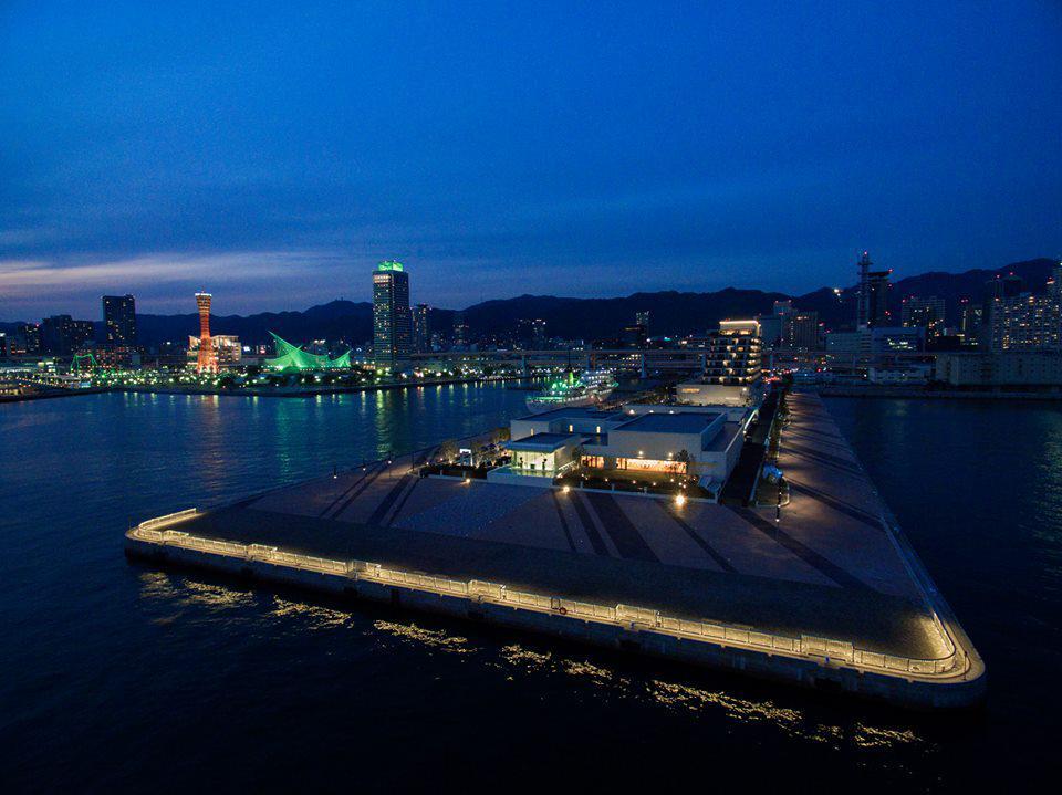 新港第一突堤にある「ラ・スイート神戸オーシャンズガーデン」