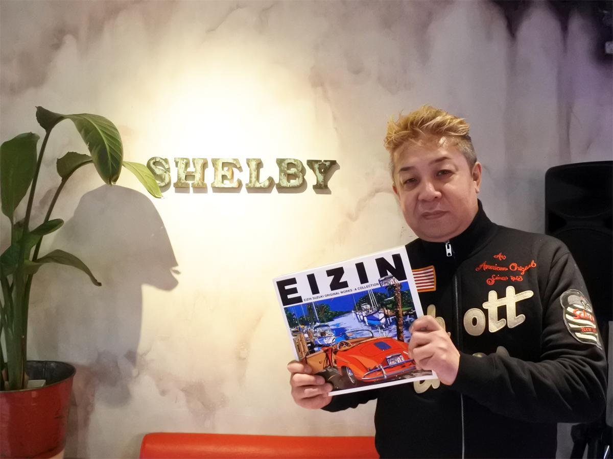 喫茶店&アメリカン雑貨店「coffee & zakka SHELBY(シェルビー)」店主の杉本大輔さん