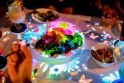 神戸の企業が飲食店向け映像演出サービス「LOVE TABLE」 国内初公開