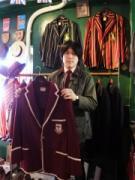 神戸・栄町通の古着店が1周年 英国製のみ買い付け