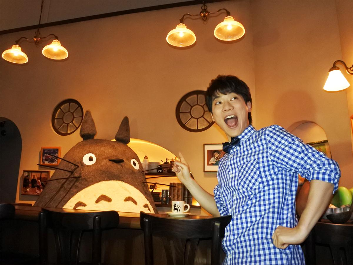 「ジブリの大博覧会」開幕初日にオフィシャルサポーターを務める横山だいすけさんが来場 &copyStudio Ghibli