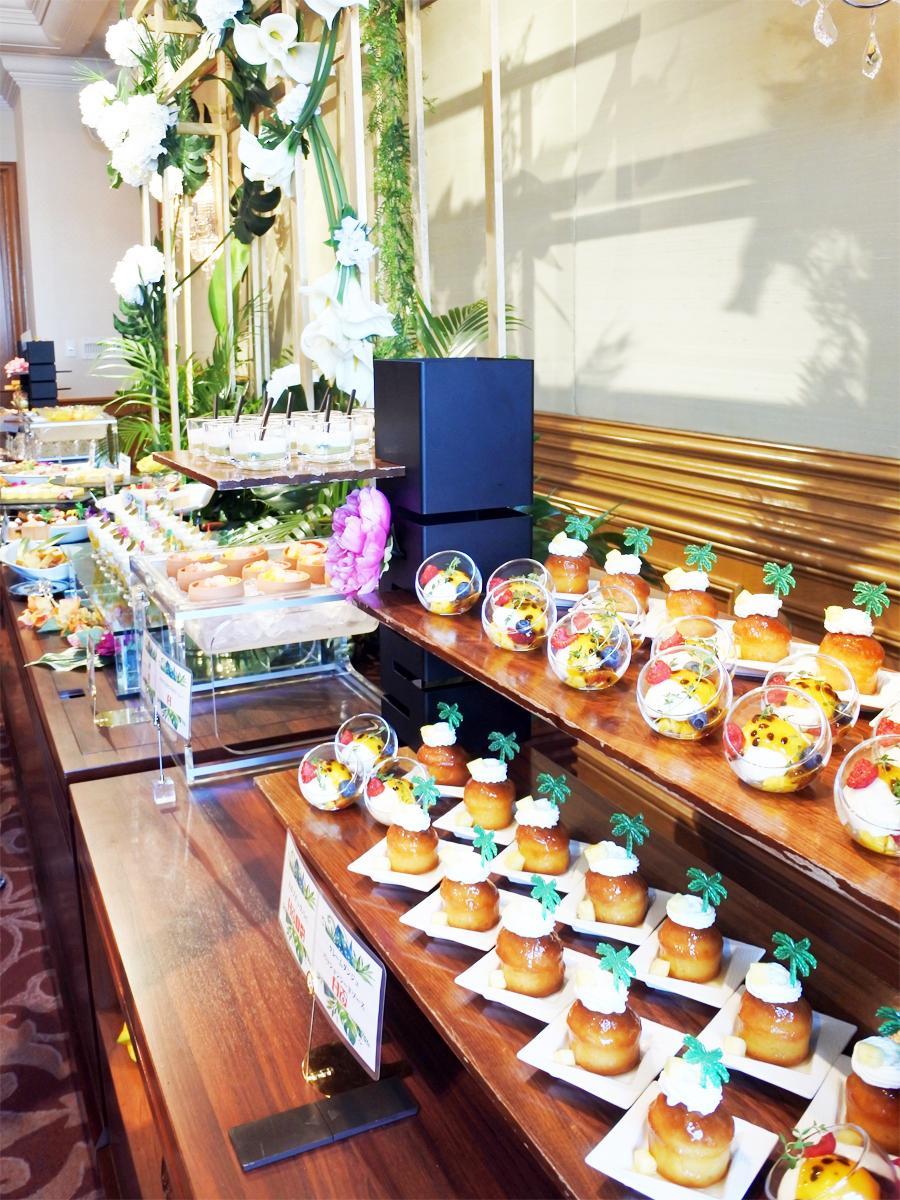 「ホテル ラ・スイート神戸ハーバーランド」開業後初のスイーツビュッフェが開催されている