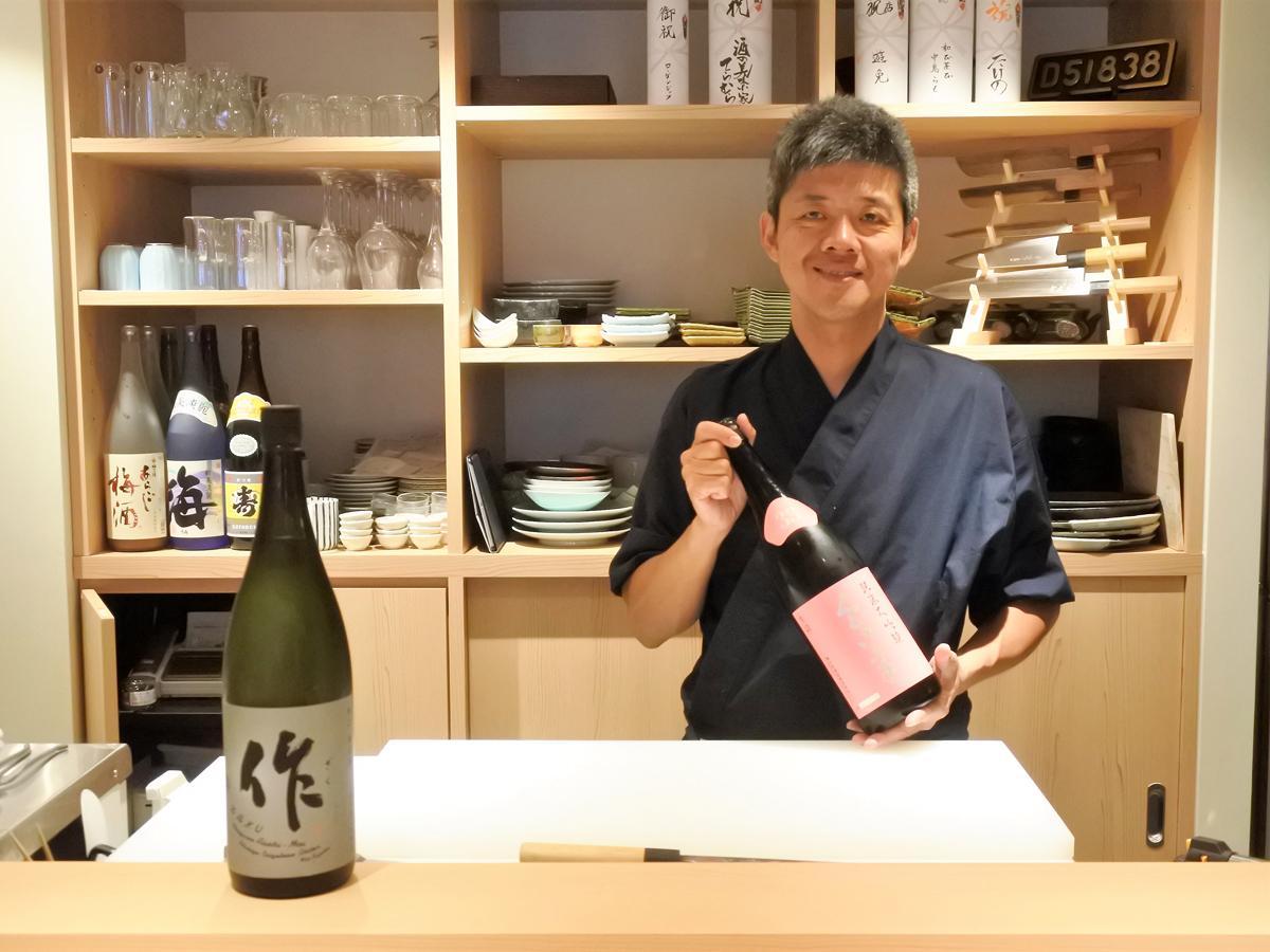 和食料理店「うろこ」店主の北條直樹さん