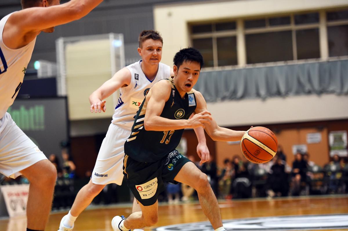 西宮ストークスに在籍する神戸出身の道原紀晃選手
