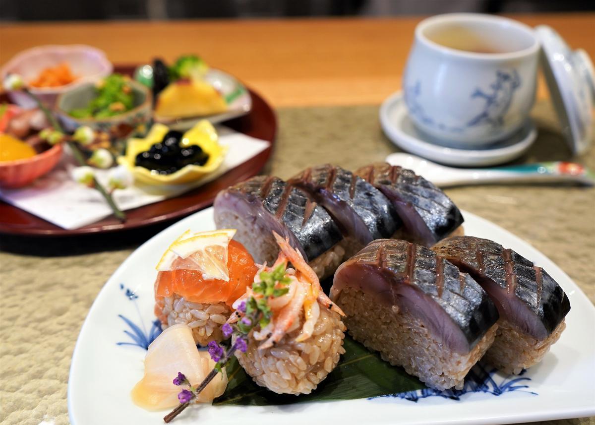 「イタリアン割烹 海」が「サバの日」の3月8日より「イタリアンな鯖寿司」をメインにしたランチメニューを提供