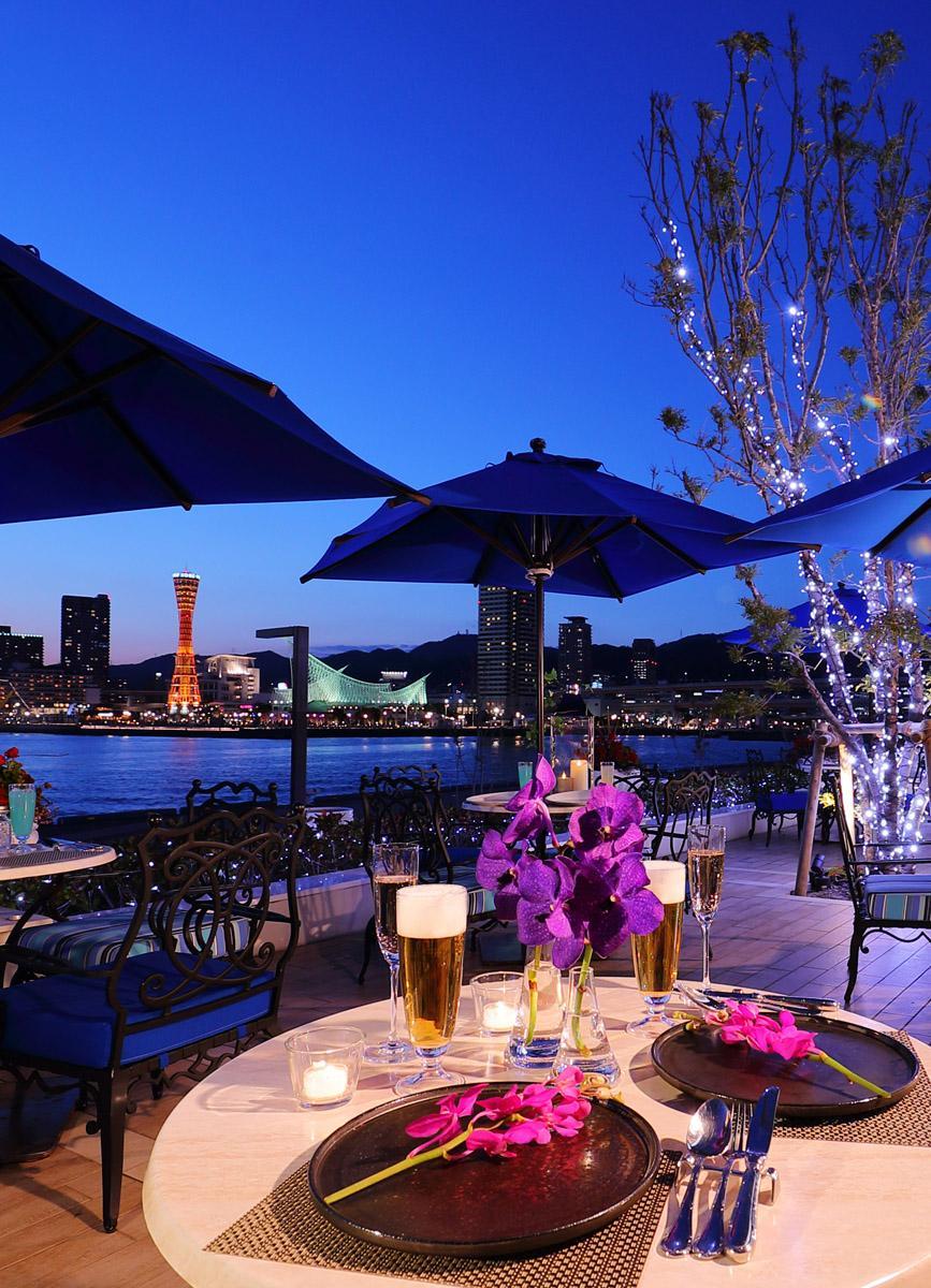 新港第一突堤にある「ラ・スイート神戸オーシャンズガーデン」で完全予約制の平日限定ビアガーデン「オーシャンズビアガーデン2019」開催