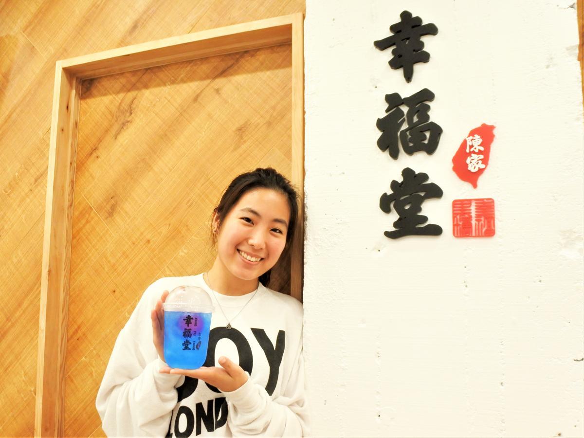 台湾発ティースタンド「幸福堂 神戸店」店長のSARAHさん