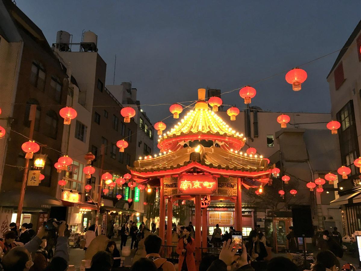 過去開催の「南京町ランターンフェア」の様子