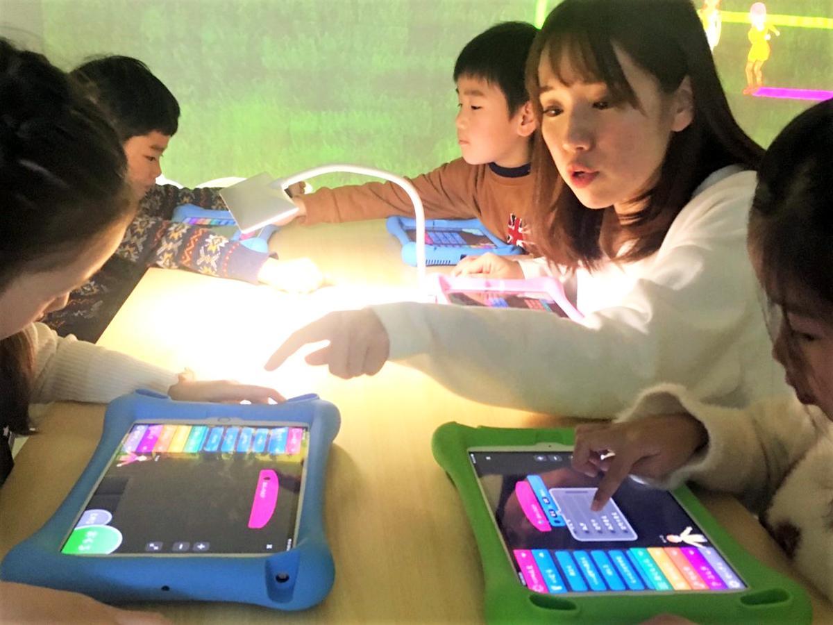 2020年2月1日開校の子ども向けプログラミング教室「あそぶ!天才プログラミングの学校 神戸元町校」の無料説明会が始まる