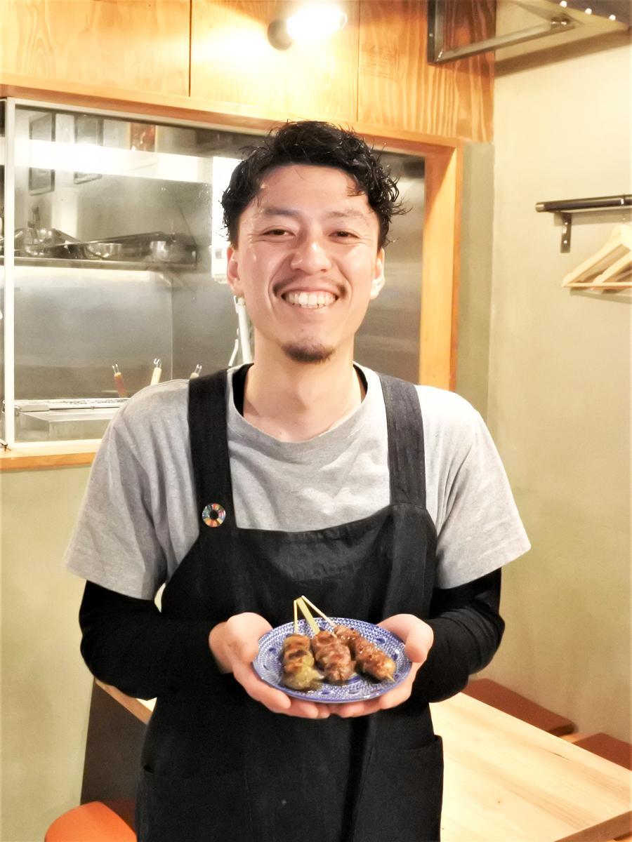 ラム肉専門店「ラムの串焼き ひつじの一休」の橋本洋二店長