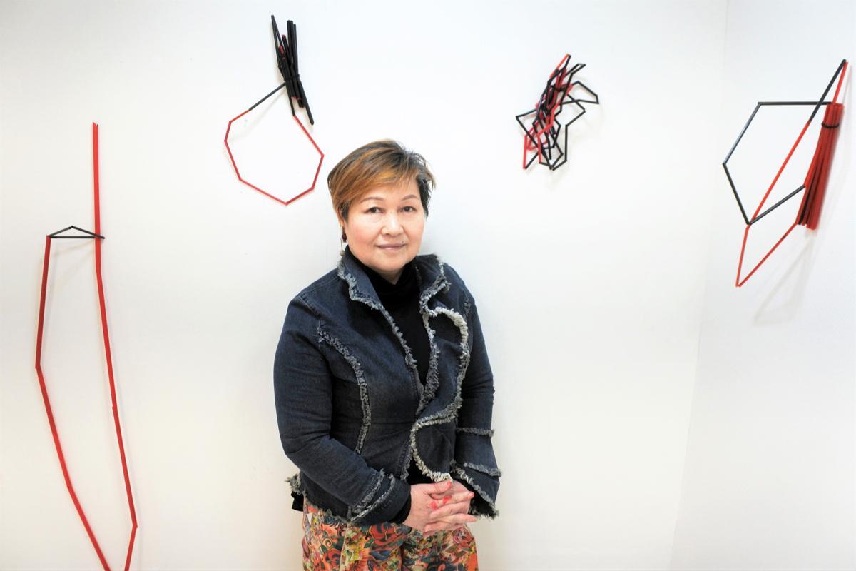 神戸市在住のアーティスト・嘉納千紗子さん