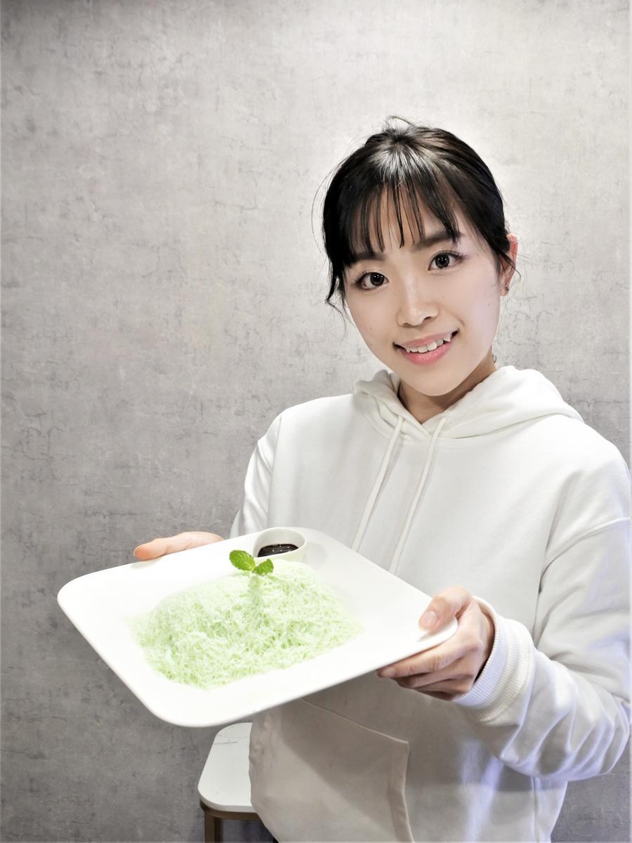 クレープと糸状かき氷の店「HACCHA CAFE(ハッチャカフェ)」が神戸・板宿駅近くにオープン