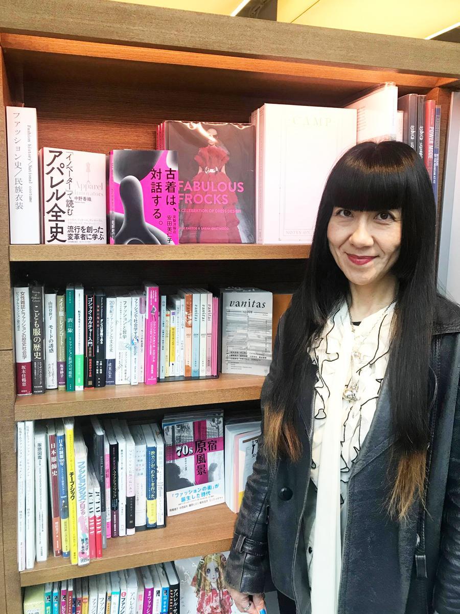 古着店「突撃洋服店」創業者で古着表現作家の安田美仁子さん