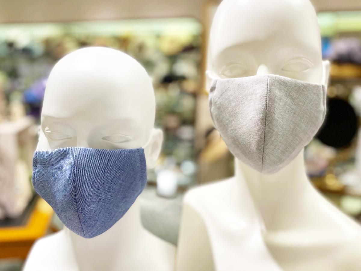 帽子専門店「マキシン」製作の夏向け新作マスク「涼感さらさらマスク」