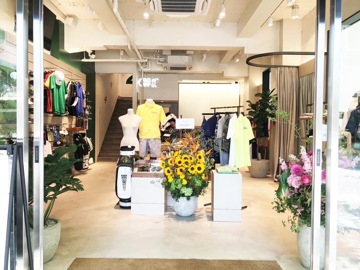 神戸の旧居留地エリアに「ビームス ゴルフ 神戸」関西初の路面店