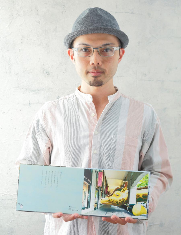 SNS「神戸人」の中の人でもある神戸在住イラストレーター川島知之さん