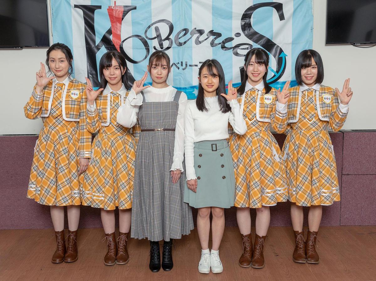 左から、井上怜奈さん、花城沙弥さん、廣瀬未沙さん、中家温香さん、古川莉子さん、小形優莉さん