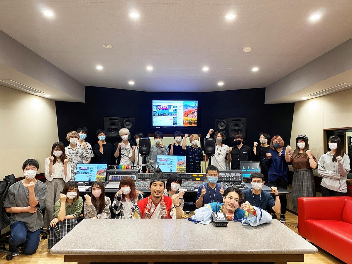 神戸・甲陽音楽&ダンス専門学校の学生と神戸・清盛隊がコラボ曲を制作