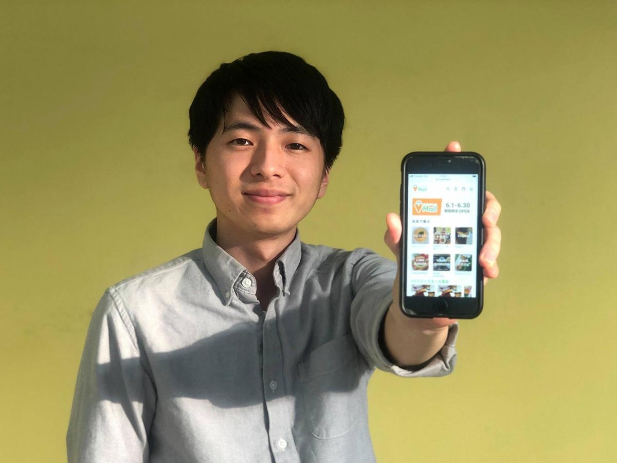 ビーガン事業を展開する「ブイクック」社長の工藤柊さん
