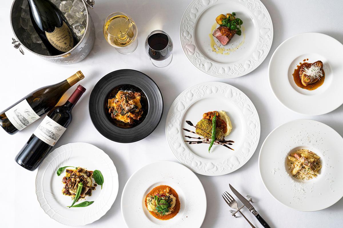 「神戸トアロードホテル山楽」のイタリアンレストラン「MILANO GRILL(ミラノグリル)」がメインディッシュ12種類食べ放題の1周年記念特別コースを提供