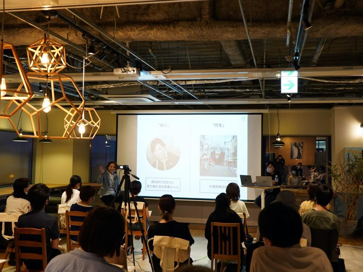 7月2日に行われた「Rethink Creator PROJECT」神戸セミナーの様子