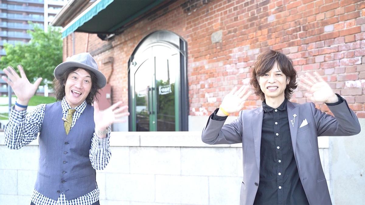 「夏休み防災未来学校2021」の7月25日メインホスト「Bloom Works」のKAZZさん(左)と石田裕之さん(右)