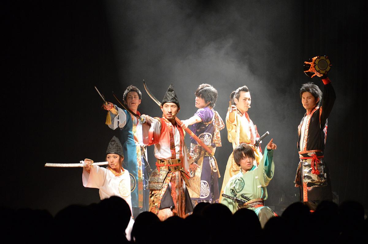 2013(平成25)年5月3日に「XEBEC HALL(ジーベックホール)」で行われた「復活の儀『甦(IKIRU)・未来へ』」の様子
