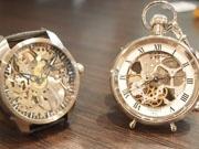 高知の懐中時計専門店が展示会 希少モデル200点以上を秋葉原に