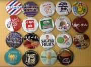 荻窪8商店会が缶バッジ配布イベント「かんぱっち」 10個集めて抽選会参加も