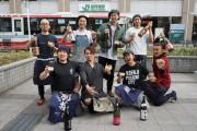 高円寺で日本酒イベント オリジナル升片手に参加店をはしご酒