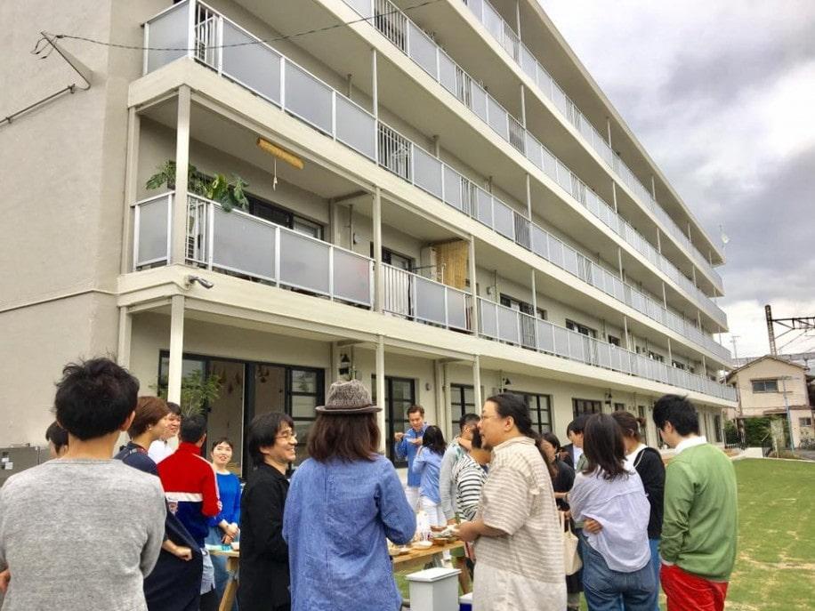 高円寺アパートメントで「おひろめマルシェ」 「近隣の人に知ってもらえれば」