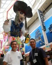 阿佐谷七夕まつりの張りぼて、神戸の「大正筋商店街」でも展示へ 商店街活性目指す