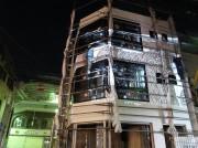 高円寺の新築ビルにミューラルアート第5弾 「制作過程も見守って」