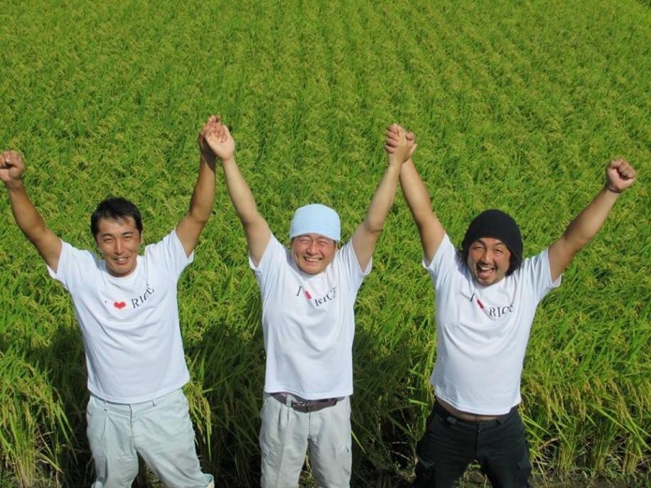 飯豊米ネットワークのメンバー
