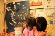 雪で折れた善福寺川緑地の桜、阿佐ヶ谷の保育施設で開花 園児に一足早い春の訪れ