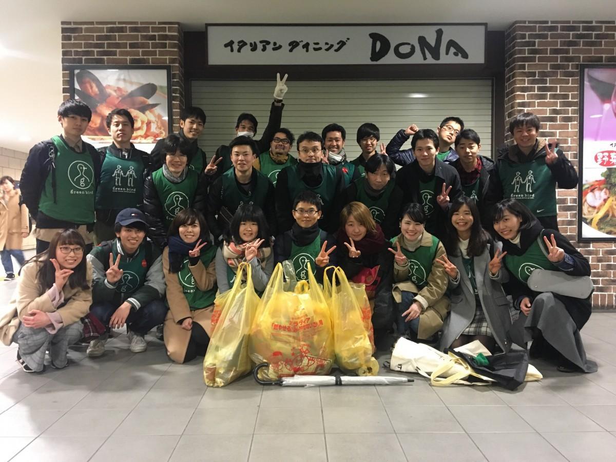 谷村さんが所属していた中央大学チーム
