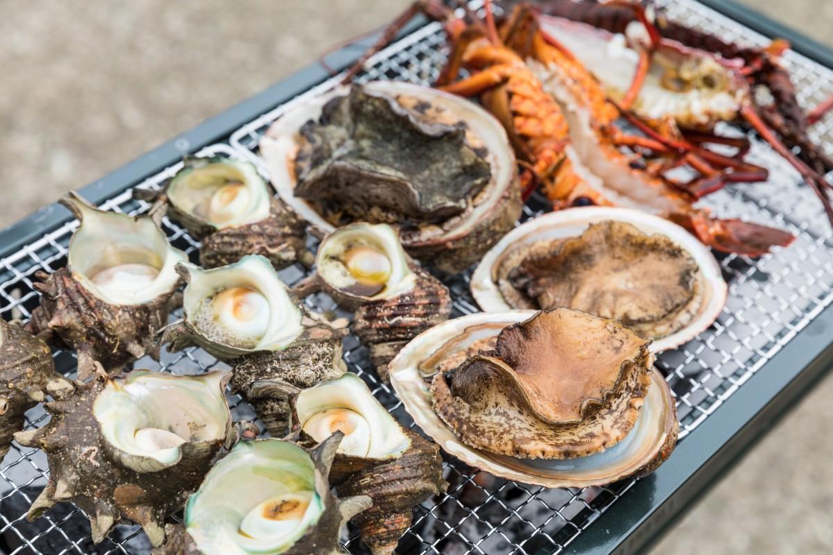 南伊豆の海産物のイメージ