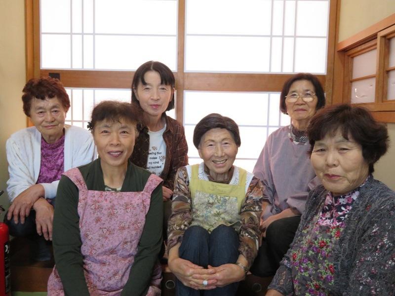 山形県飯豊町から訪れる「お母ちゃん」たち