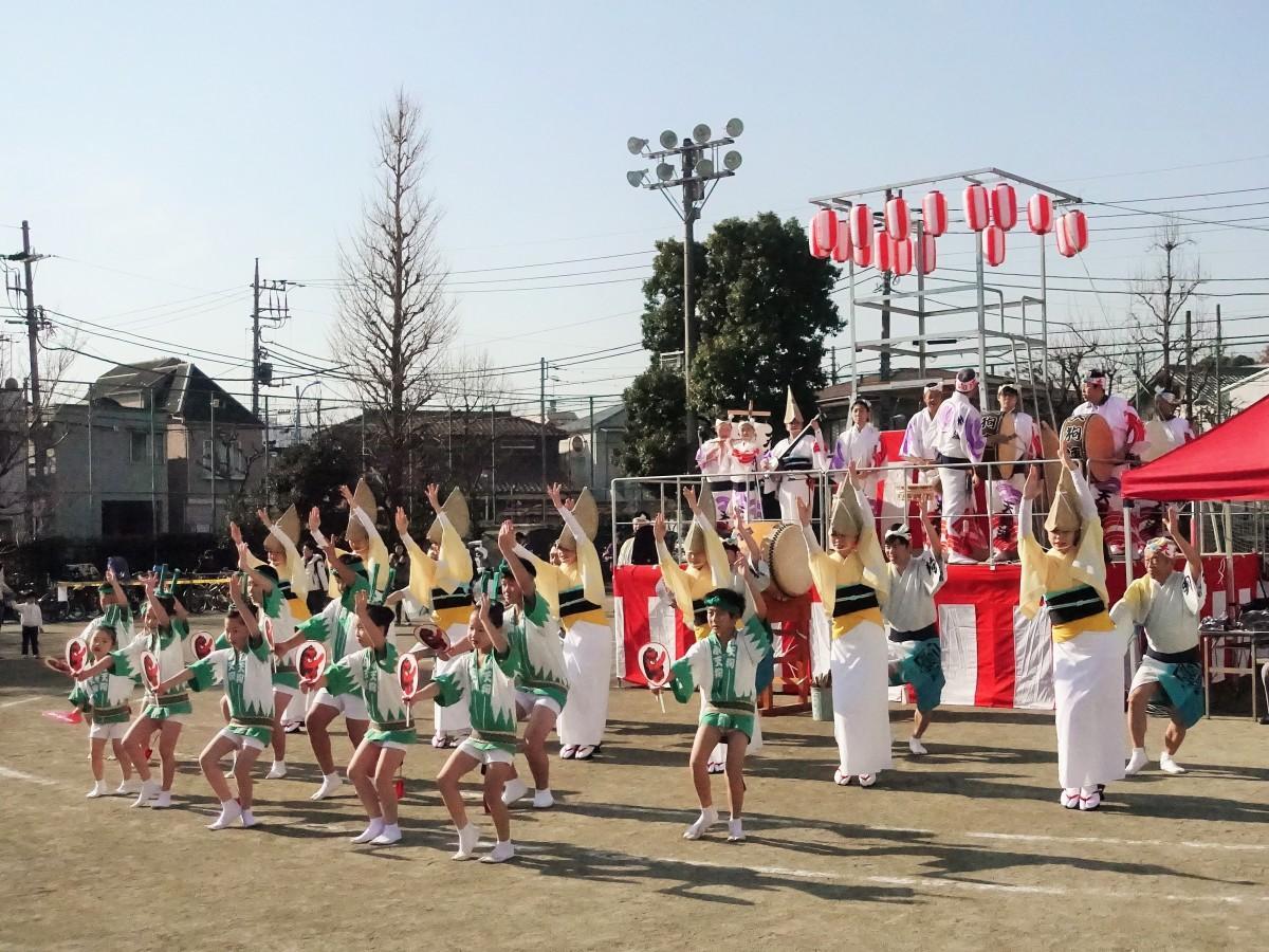 「馬橋盆踊り」過去開催の様子