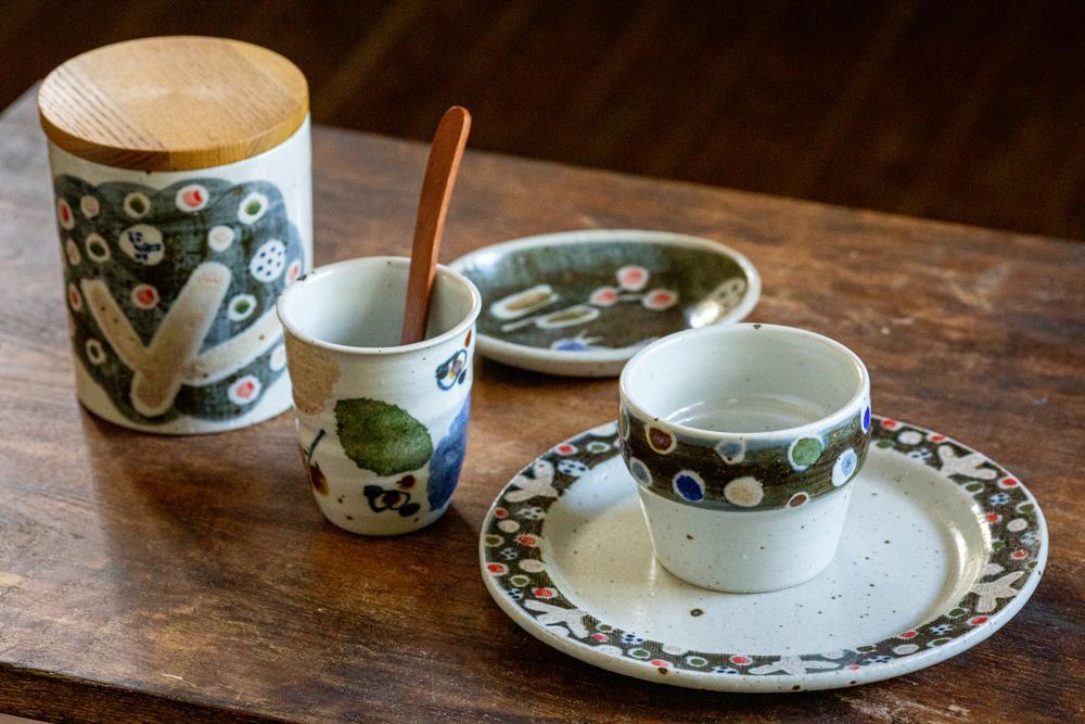 森陶房の陶磁器