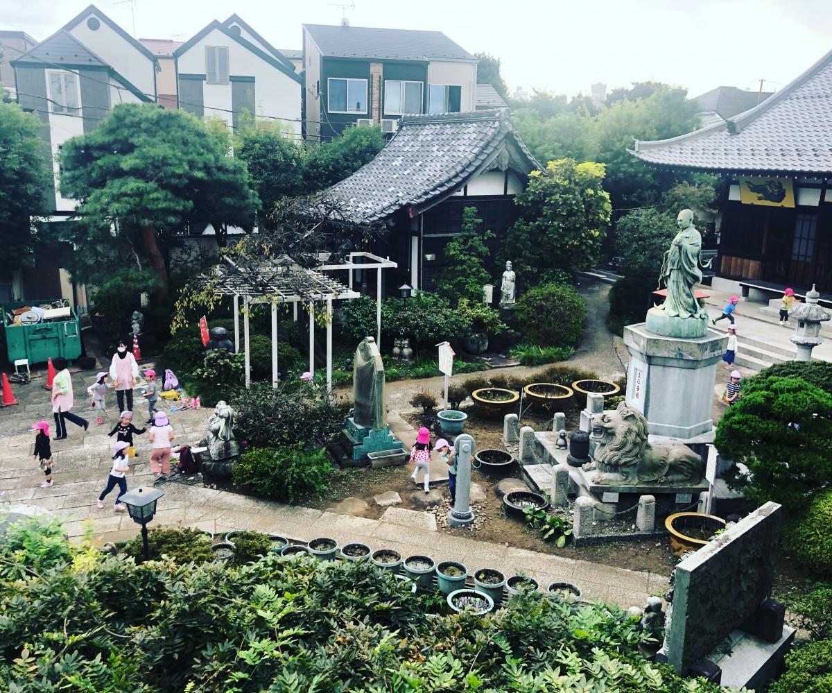 会場の長善寺