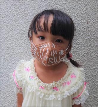 阿佐ヶ谷のたい焼き店が「たいやきマスク」、子どもや女性に合わせ サイズ展開