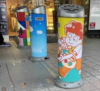 高円寺で「スタンド灰皿コンテスト」 「ありがとう!」テーマにデザイン募集、リアル投票も