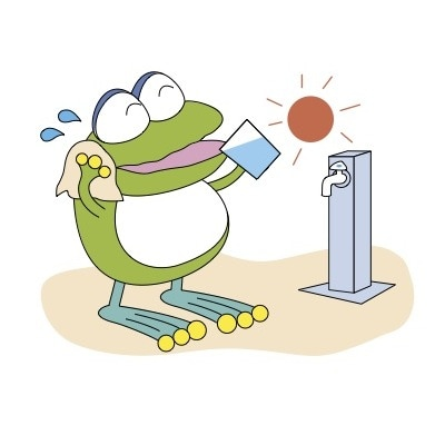 当日は横浜市水道局のキャラクター「はまピョン」もやってくる